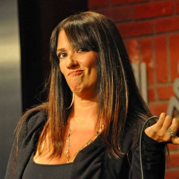 Cougar MILF of Comedy Andrea Nittoli getting down at the Improv in Los Angeles